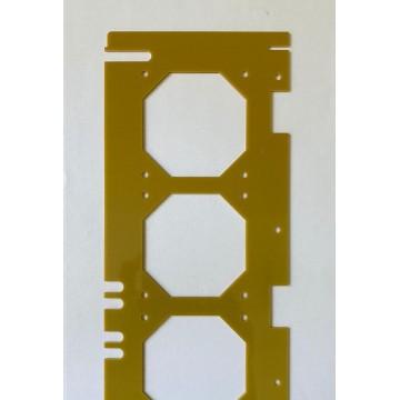 Порезка (фрезеровка) стеклотекстолита в размер согласно чертежа/эскиза.
