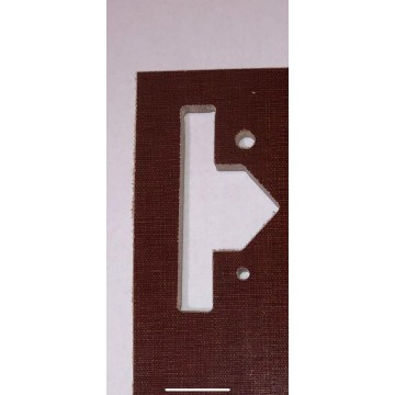 Порезка (фрезеровка) текстолита в размер согласно чертежа/эскиза.