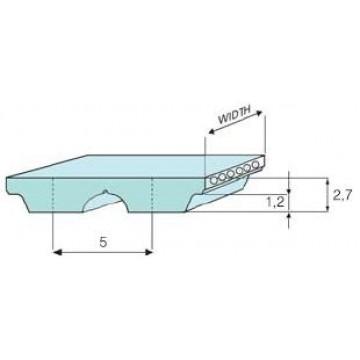 Ремень AT-5 полиуретановый (шаг 5 мм) зубчатый