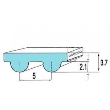 РЕМЕНЬ 5М  (шаг 5  мм)  ЗУБЧАТЫЙ