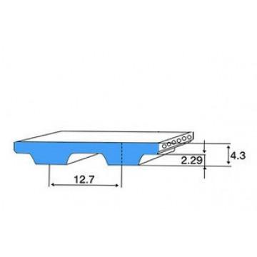 РЕМЕНЬ H  (ШАГ 12,7 ММ) зубчатый