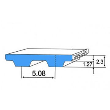 РЕМЕНЬ XL  (ШАГ 5,08 ММ) ЗУБЧАТЫЙ
