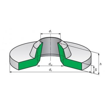 Манжеты и воротники резиновые уплотнительные  ГОСТ 6678-53
