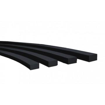 Шнур теплостойкий резиновый прямоугольный ТУ У 22.1-00152135
