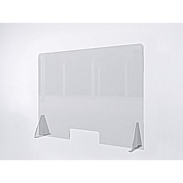 Защитный экран барьер для работников касс и салонов красоты