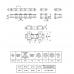 Цепь ТРД-38,0-4600-1-2-8-4 L=3.306 м (87 L) (CT Chain)