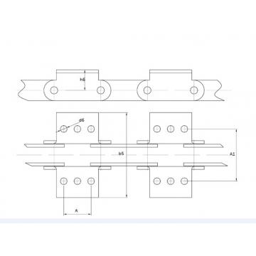 Цепи Тяговые пластинчатые ГОСТ 588-81 Присоеденительные элементы Тип 1-3.