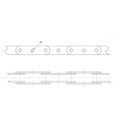 Цепи Тяговые пластинчатые ГОСТ 588-81 Присоеденительные элементы Тип 2-1.