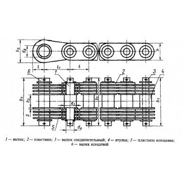 Грузовые пластинчатые ГОСТ 191-82 Тип 3