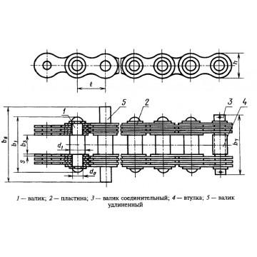 Грузовые пластинчатые ГОСТ 191-82 Тип 4
