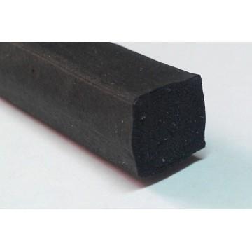 Шнуры резиновые прямоугольного сечения